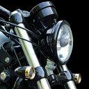 キジマ (KIJIMA) HD-01556 旧品番HD-01550 ヘッドライトベゼル ブラック ハーレー 04年以降〜 スポーツスター