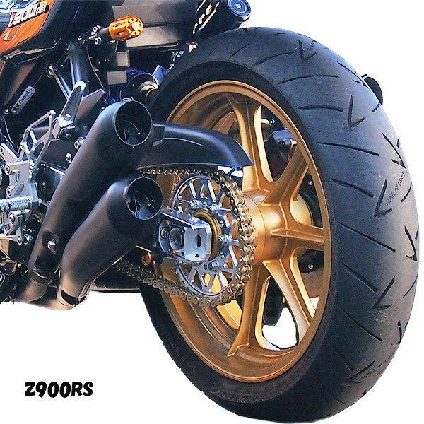 【予約受付中】ドレミコレクション 35200 Z900RS 4本出しマフラー ブラック レース用 車検非対応