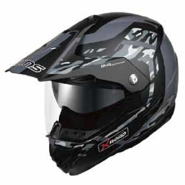 WINS X-ROAD FREE RIDE マットカモグレー Lサイズ モトクロス トレイル ヘルメット