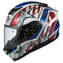 【発売時期未定】OGKカブト AEROBLADE5 VISION フルフェイスヘルメット ホワイトブルーレッド XS〜XXLサイズ エアロブレード5