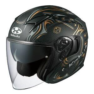 【7月発売予定】OGKカブト EXCEED SWORD エクシード ソード フラットブラックゴールド オープンフェイスヘルメット ジェットヘルメット