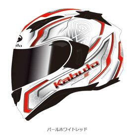 【7月発売予定】OGKカブト カムイ3 KAMUI-3 サークル CIRCLE パールホワイトレッド
