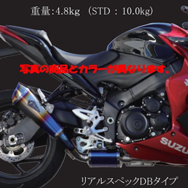 アールズギア r's Gear RS11-01RT ワイバンリアルスペック フルチタン フルエキゾーストマフラー SUZUKI GSX-S1000/F ABS