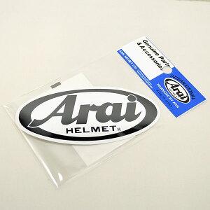 【あす楽対応】 Arai アライ 1591 (121591) ヘルメット ステッカー 11×5cm