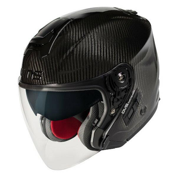 【3月以降の出荷】WINS A-FORCE RS JET インナーシールド付き カーボン ジェットヘルメット
