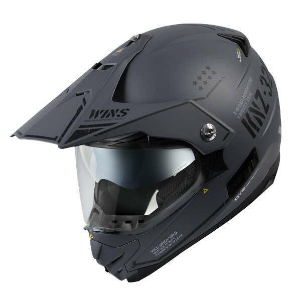 【10月以降の入荷】WINS X-ROAD COMBAT マットアーミーグレー モトクロス トレイル ヘルメット