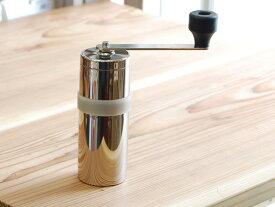 ミルル MILL MI-006 コーヒーミル|燕|みるる|ミル|つばめ|ツバメ|ステンレス|セラミック|セラミック刃|手動|18-8ステンレス|三洋産業|グラインダー|コーヒーグラインダー|日本製|国産|MADE IN JAPAN