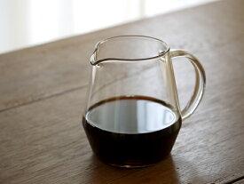 トーチ(TORCH)コーヒーサーバー ピッチー|中林孝之|北欧|抽出器具|コーヒー器具|コーヒーサーバー|耐熱ガラス|ドーナツドリッパー(coffee server pitchii|小鳥デザイン