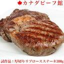 【試作品:ちょっと小さめの訳あり】カナダビーフ・厚切りリブロースステーキ300g★レアからウェルダンどんな焼き方で…