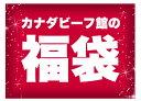福袋 ラッキーバッグ 2020 9点盛+プレゼント 限定300セット カナダビーフ館館長特選福袋 ステーキ ローストビーフ