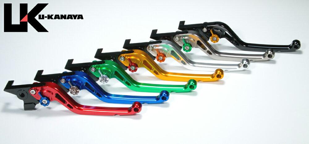 U-KANAYA アルミレバーセット Type-S スズキ バンディット250 GSR250 GSR400 GSR600 GSR750 グラディウス GSX-R600 GSX-R750 GSX-R1000 ボルティ グラストラッカー Vストローム650 【035su037】