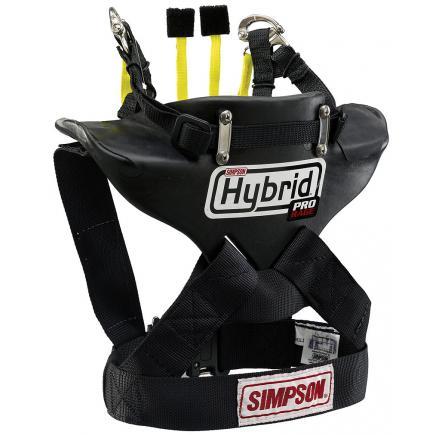 USAシンプソン四輪ハイブリッドプロレイジ SFI 38.1 FAI 公認SIMPSON HYBRID PRO RAGEラージサイズのみ7,000円up (税別)着用例。実際の商品は画像とは多少違うことがございます。ヘルメットは付属しません。