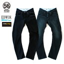 【56デザイン×エドウィン/56design×EDWIN】56 RIDER JEANS - COOL MESH CORDURA Damage Washed 56...