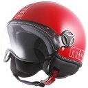 【モモデザイン/MOMO DESIGN】 FIGHTER GLAM(ファイター グラム)レッド ヘルメット バイク 【送料無料】【O】【3】 ギフト【S】
