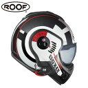 【ルーフ/ROOF】BOXER V8 TARGET ボクサー ターゲット ホワイト×レッド×ブラック システムヘルメット バイク【送料無料】 父の日 ギフト