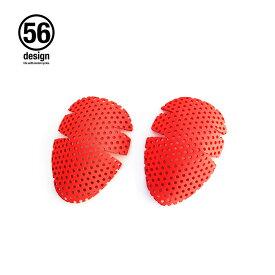【56デザイン/56design】 OPTION KNEE PAD(56 オプションニーパッド) プロテクター バイク バイク用 膝当て ひざあて サポーター 【メール便可】