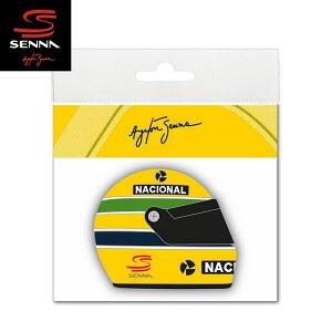 【アイルトン セナ/Ayrton Senna】 STICKER SENNA HELMET 1990 3D (セナ ヘルメット 1990 3D ステッカー) F1 ドライビング グッズ【メール便可】