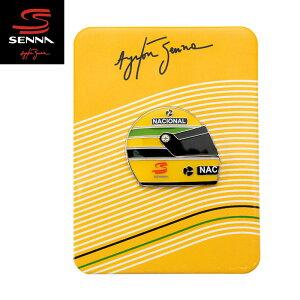 【アイルトン セナ/Ayrton Senna】PIN SENNA HELMET 1990セナ ヘルメット 1990 ピン ピンバッジ ピンズ F1 グッズ【メール便可】
