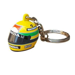 【アイルトン セナ/Ayrton Senna】セナ 3D ヘルメット 1988 キーリング F1