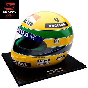 予約/受注発注【アイルトン セナ/Ayrton Senna】1990 アイルトン・セナ レプリカヘルメット 1/1スケール ID MOSCA製ハンドメイド F1