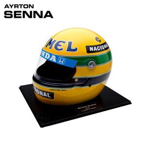 予約/受注発注【アイルトン セナ/Ayrton Senna】1987年 キャメル・ロータス・ホンダ レプリカヘルメット 1/1スケール Sid Mosca製 ハンドメイド F1 観賞用