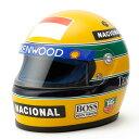 【アイルトン セナ/Ayrton Senna】1/2スケール セナ 1993 レプリカ ヘルメット マクラーレン 1993年仕様