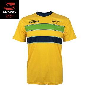 【アイルトン セナ/Ayrton Senna】セナ ヘルメットTシャツ F1【メール便可】