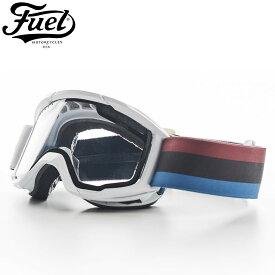 【フュエル ビスポーク モーターサイクル/Fuel Bespoke Motorcycles】RALLY FUEL GOGGLE バイク ゴーグル エンデューロライダー 感光レンズ UVカット コンフォートフォームにCOOLMAXレイヤー