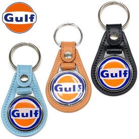 【ガルフ/GULF】ガルフ メダル 4 キー キーホルダー キーリング ロゴ GULF MEDAL 4 KEY【メール便可】