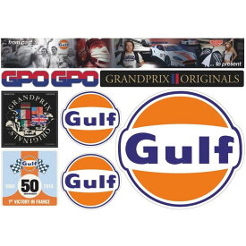 【ガルフ/GULF】I Love GPO Sticker アソート ステッカー
