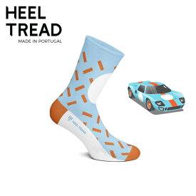 【ヒールトレッド/HEEL TREAD】GT40 靴下 ソックス GULF ガルフ FORD フォード GT40 PORSCHE ポルシェ 917 ルマン ル・マン 24時間【メール便可】