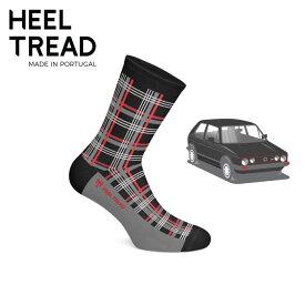 【ヒールトレッド/HEEL TREAD】GTI 靴下 ソックス VW フォルクス ワーゲン GOLF ゴルフ POLO ポロ UP アップ GTI ドイツ車【メール便可】