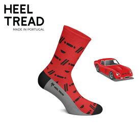 【ヒールトレッド/HEEL TREAD】GTO 靴下 ソックス FERRARI フェラーリ 250 GTO 275 GTB 250 LM ルマン ル・マン レーシングカー スクーデリア エンツォ【メール便可】