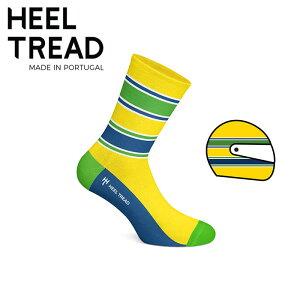 【ヒールトレッド/HEEL TREAD】AYRTON 靴下 アイルトン・セナ ヘルメットループ ヘルメットカラー【メール便可】