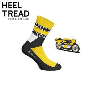 【ヒールトレッド/HEEL TREAD】YZR 靴下 (YZR500 ロバーツ バレンティーノ ロッシ YZR-M1 ヤマハ WGP 世界GP motoGP)【メール便可】