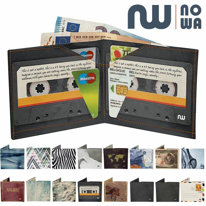 【ノワ クラシック/nowa classic】二つ折り財布 ウォレット 超軽量 ユニセックス プレゼント ギフト 【メール便可】