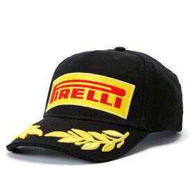 【ピレリ/PIRELLI】ポディウムキャップ PIRELLI PODIUM CAP タイヤメーカー F1 グッズ 月桂樹 帽子