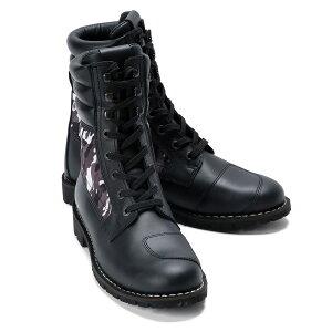 【スティル マーティン/Stylmartin】YU' ROK LTD CAMO メンズ ブーツ フルグレインレザー CE認定 イタリア製