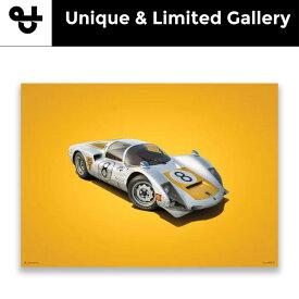 予約11月入荷予定【ユニーク&リミテッド ギャラリー/Unique & Limited Gallery】ポルシェ 906 第4回日本グランプリ Colors of Speed ポスター
