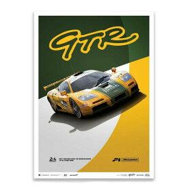 予約11月入荷予定【ユニーク&リミテッド ギャラリー/Unique & Limited Gallery】McLaren F1 GTR Mach One Racing 1995年 ル・マン24時間レース リミテッド エディション ポスター 世界限定1000枚