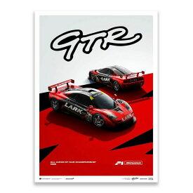 予約11月入荷予定【ユニーク&リミテッド ギャラリー/Unique & Limited Gallery】LARK McLaren F1 GTR 1996 JGTC リミテッドエディション ポスター 世界限定1000枚