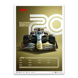 【ユニーク&リミテッド ギャラリー/Unique & Limited Gallery】FIA FORMULA 1 2020-2029 リミテッド エディション ポスター 世界限定2020枚