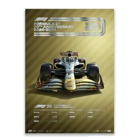 予約11月入荷予定【ユニーク&リミテッド ギャラリー/Unique & Limited Gallery】FIA FORMULA 1 2020-2029 コレクターズ エディション ポスター 世界限定700枚