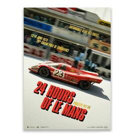 予約11月入荷予定【ユニーク&リミテッド ギャラリー/Unique & Limited Gallery】Porsche 917 KH Past 24h Le Mans 1970 コレクターズ エディション ポスター 世界限定917枚