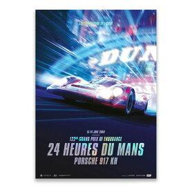 予約11月入荷予定【ユニーク&リミテッド ギャラリー/Unique & Limited Gallery】Porsche 917 KH Future 24h Le Mans 2054 コレクターズ エディション ポスター 世界限定917枚
