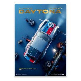 予約11月入荷予定【ユニーク&リミテッド ギャラリー/Unique & Limited Gallery】Porsche 911 Carrera RSR Past Daytona 1973 コレクターズ エディション ポスター 世界限定911枚