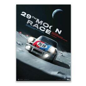 予約11月入荷予定【ユニーク&リミテッド ギャラリー/Unique & Limited Gallery】Porsche 911 Carrera RSR Future 29th Moon Race 2078 コレクターズ エディション ポスター 世界限定911枚