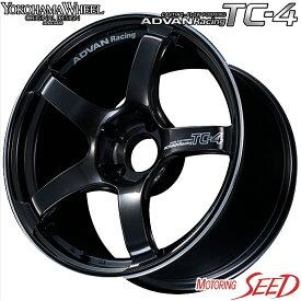 【マツダ6等に】YOKOHAMA WHEEL ADVAN Racing TC-4 17×7.5J 5H 114.3 +48 × BRIDGESTONE REGNO GRV2 225/55R17 サマータイヤホイール4本セット