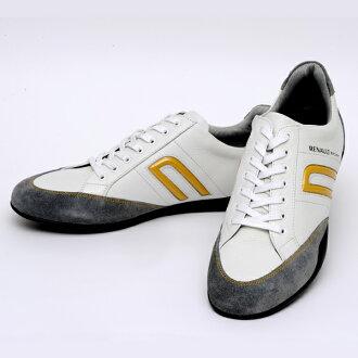 雷诺运动白色 negroni (NEGRONI 为雷诺运动 Blanc) (驾驶鞋鞋鞋男士时尚休闲冬鞋鞋滑驱动器驱动冬天穿出流行的运动鞋店乐天)