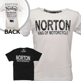 【在庫処分セール/値下げ】ノートン(Norton)吸水速乾バンダナ使いTシャツ